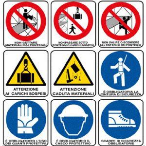 cartello sicurezza cantiere